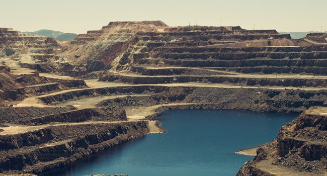 Bergbauindustrie